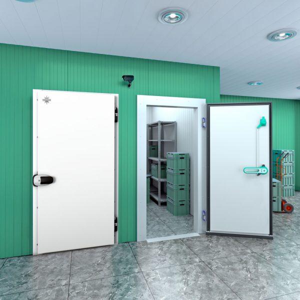 Распашная-одностворчатая-дверьПрофХолод