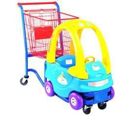 детская тележка машинака для магазинов