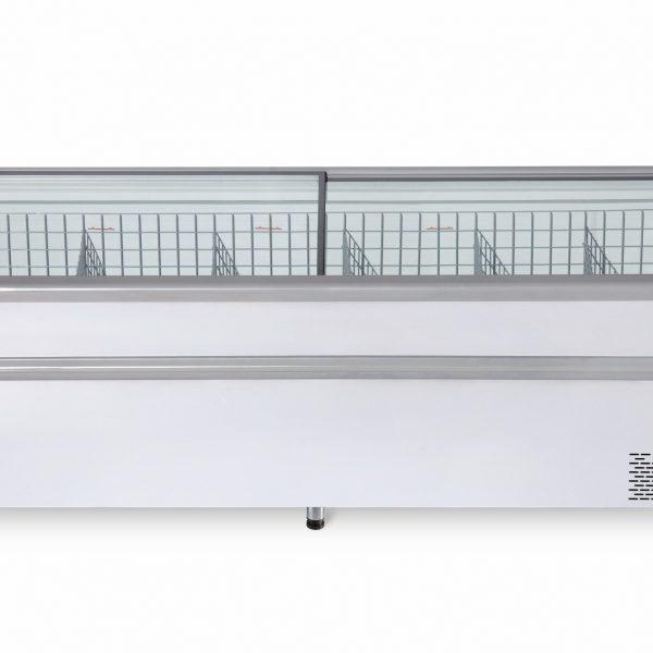 Морозильная бонета BFG 2100 с гнутым стеклом