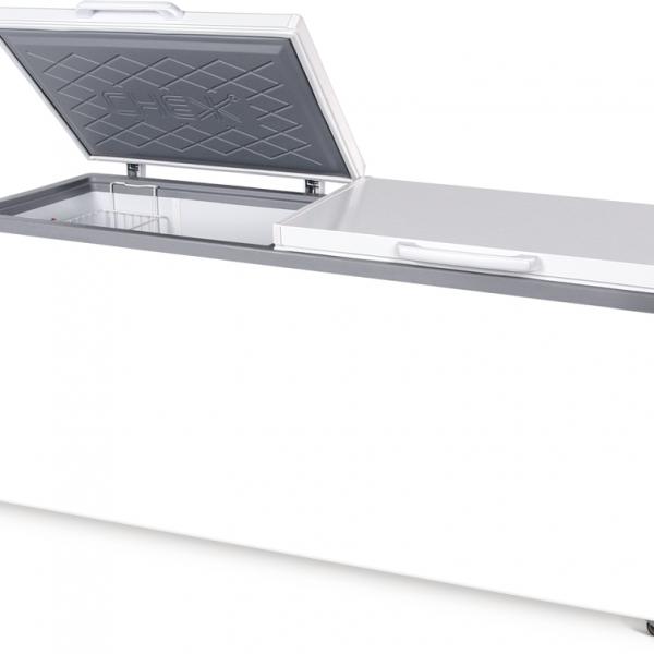 Морозильный ларь с глухой крышкой МЛК-800
