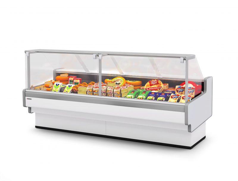 Холодильные витрины Aurora Slim SQ 125