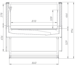 Холодильная бонета Aquarius PLUG-IN HT 120
