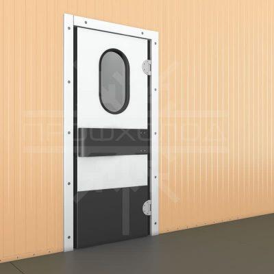 маятниковая двер закрытая