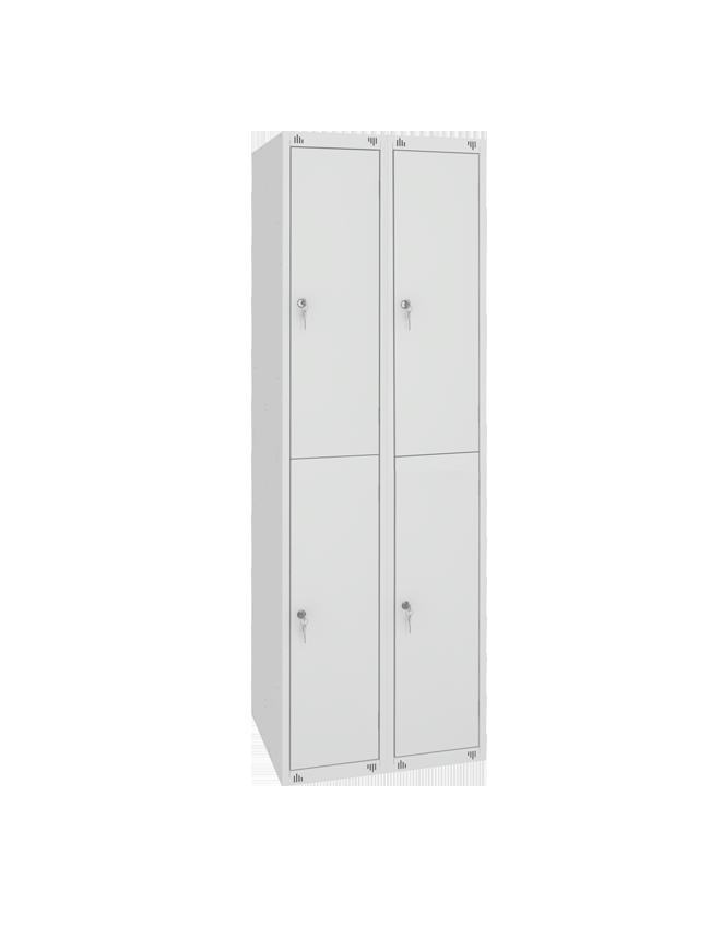 Металлический гардеробный шкаф ШМ-24-1850х600х490