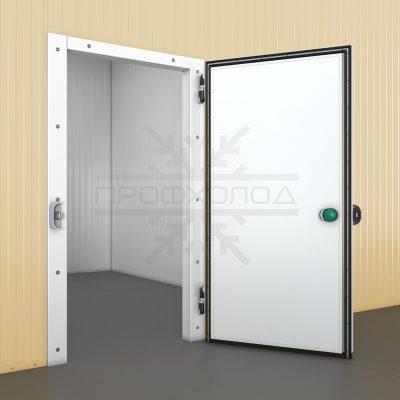 без порого откатная холодильная дверь